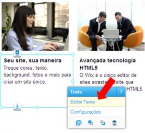 Como editar ou adicionar texto as suas páginas Wix