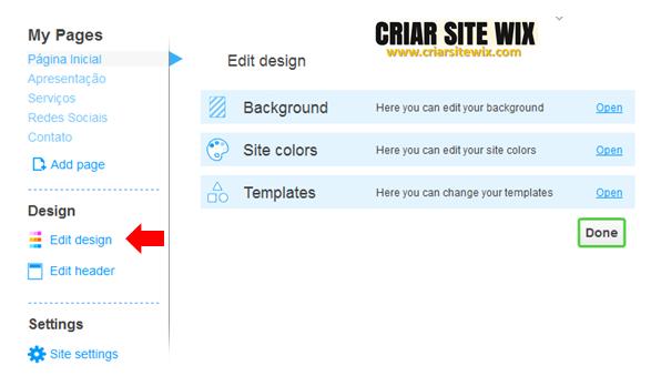 Criar site de vendas gratis wix