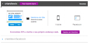 Editar Site
