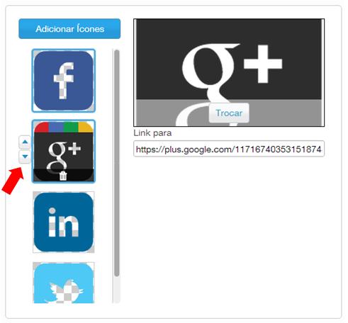 colocar redes sociais wix