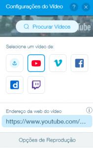 Youtube wix