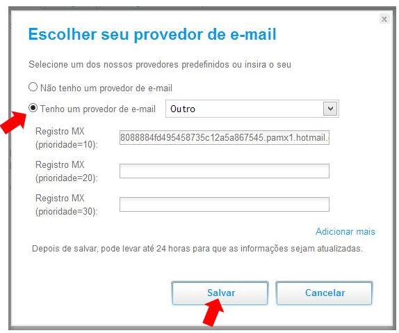 email wix criar site wix