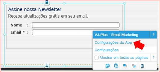 Como adicionar Newsletter no site wix