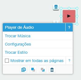 Musica no Wix