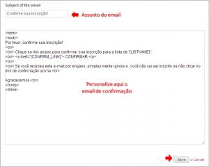 wix marketing email