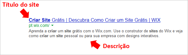 Seo Wix Site
