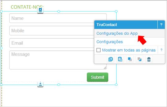 contatos criar site wix