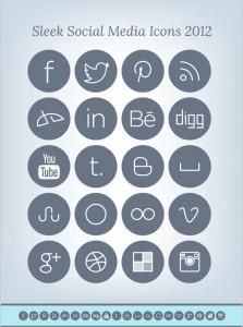 Free-Simple-Sleek-Social-Media-Icons-Pack-2013